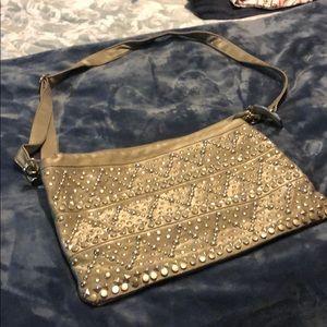 Nicole Lee silver purse
